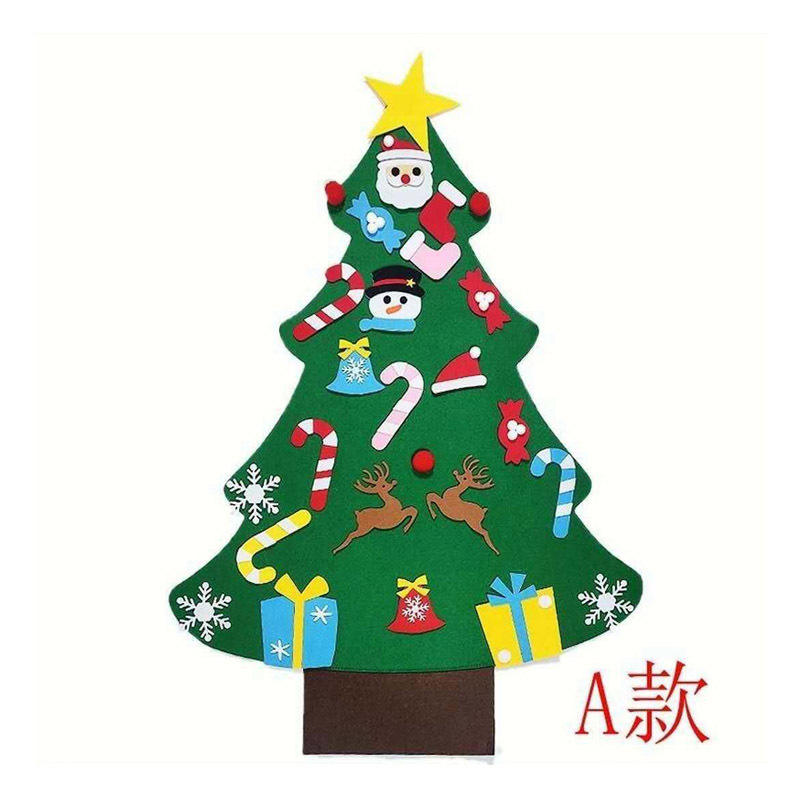 Factory Sale Various Widely Used Felt Small Artificial Christmas Tree