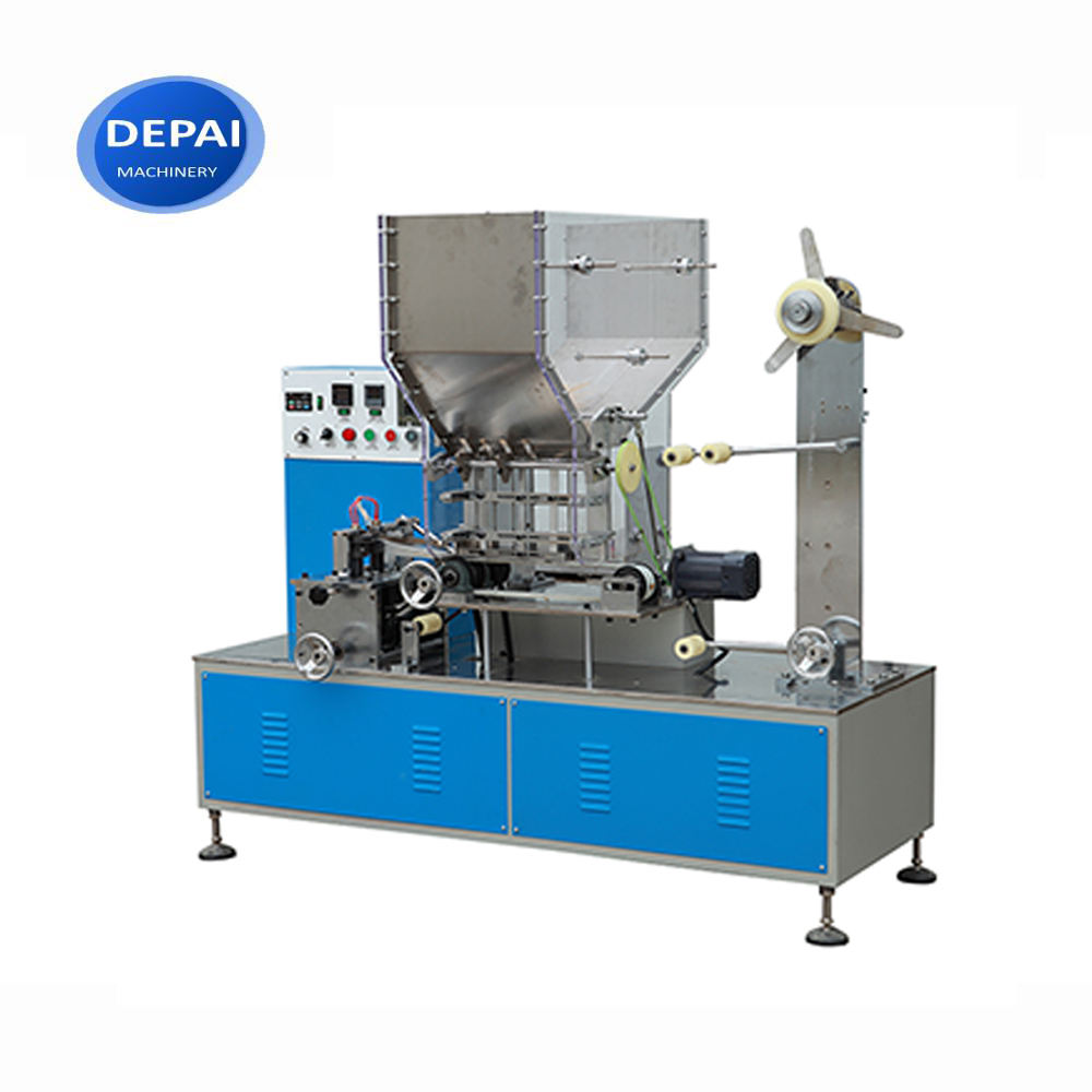 DP-SP-300 High Speed Individual Paper Drinking Straw Packaging Wrapping Machine with Printing Equipment