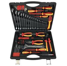 48 pcs professional certified 1000 VDE tool set electric tools GS  approved hand tools insulated screwdrivers pliers