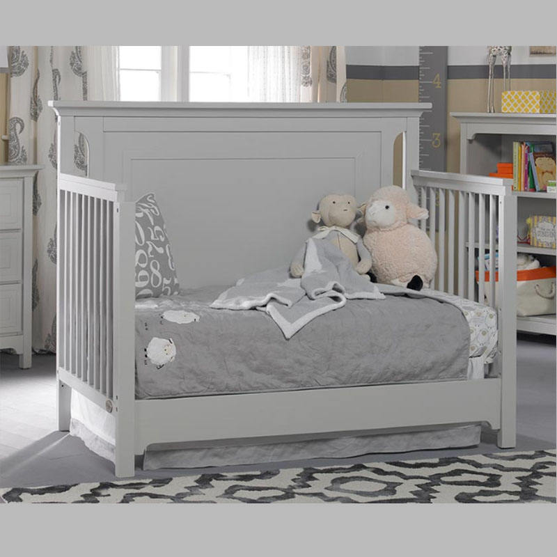 Hot Sale Convertible wood natural solid wood cot baby cribs