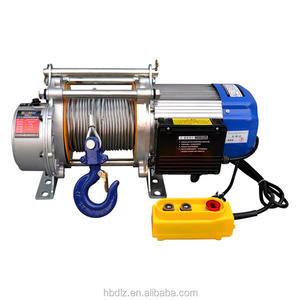 China suppliers construction hoist mini 220V electric winch