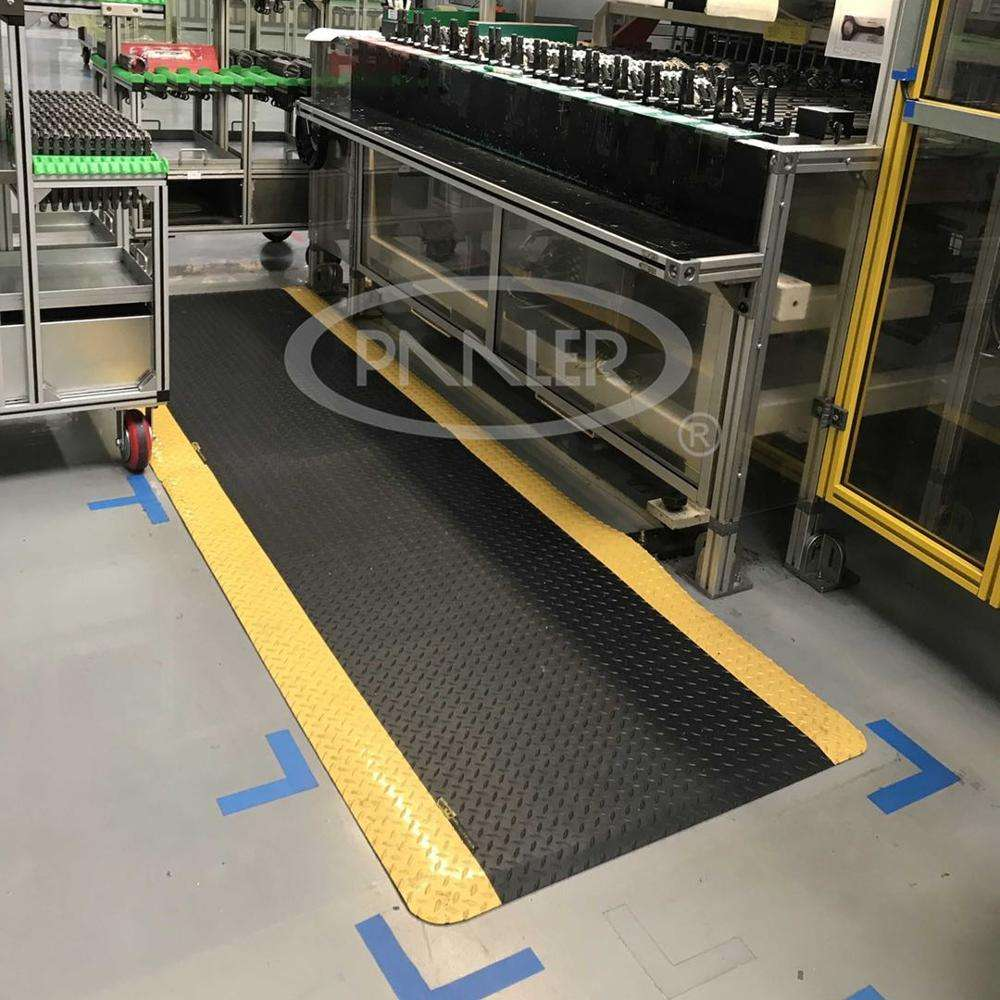 Eco Friendly Anti fatigue Wear resistant industrial rubber floor Mat Non-slip Mat for factory use