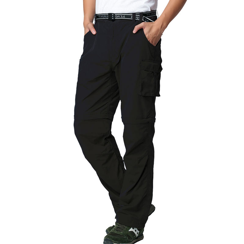 Flygaga Men Fast Drying Convertible Cargo Pants Desmontable Pantalones De Hombre Breathable Outdoor Trekking Tactical Pants