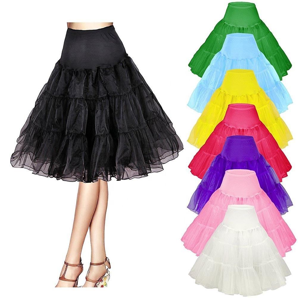 Nieuwe Mode Sexy Lady Elegant Fluffy Pettiskirt Vintage Jurk Voor Wedding Bridal