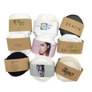 Sopurrrdy Round Washable and Reusable Organic Bamboo Makeup Remover Pads
