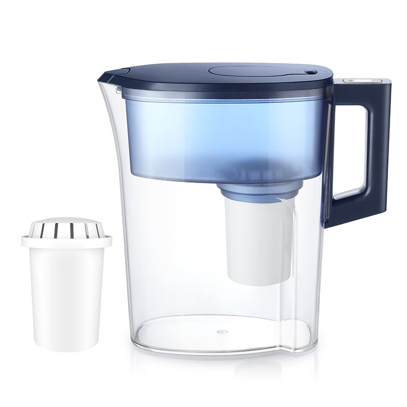 5-Stage Water Filtration System Alkaline Water Pitcher with Long Life Filter