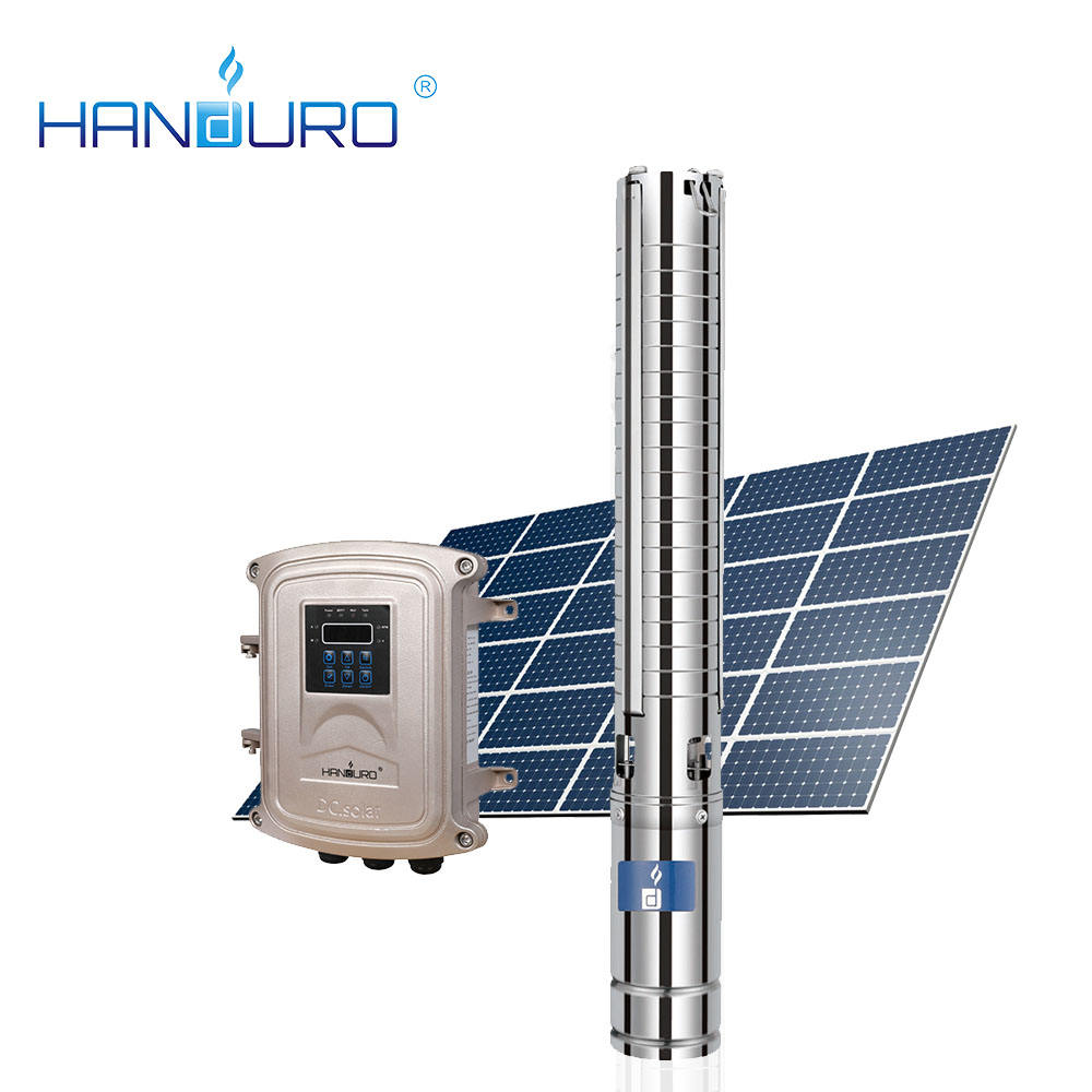135 gph 0.75kw solar water pump invert with panels/solar submersible pump specifications