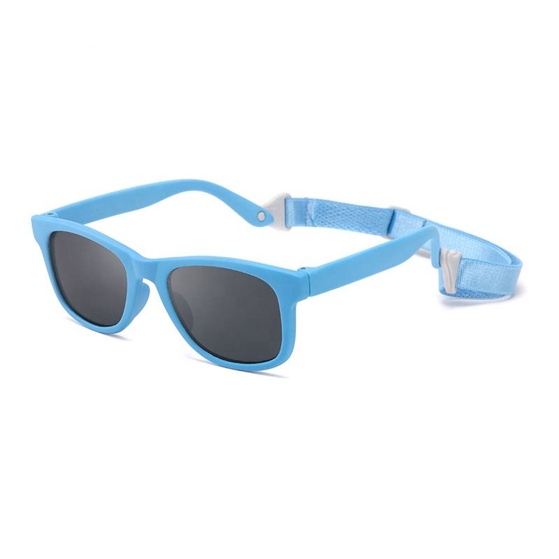 Fashion Outdoor Safety Uv400 Rubber Kids Sun Glasses Sunglasses