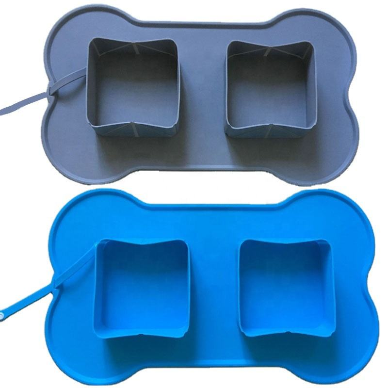 New Collapsible Dog Bowl, Eco-friendly Silicone Foldable Pet Bowls, Custom Silicone Pet Products Supplier