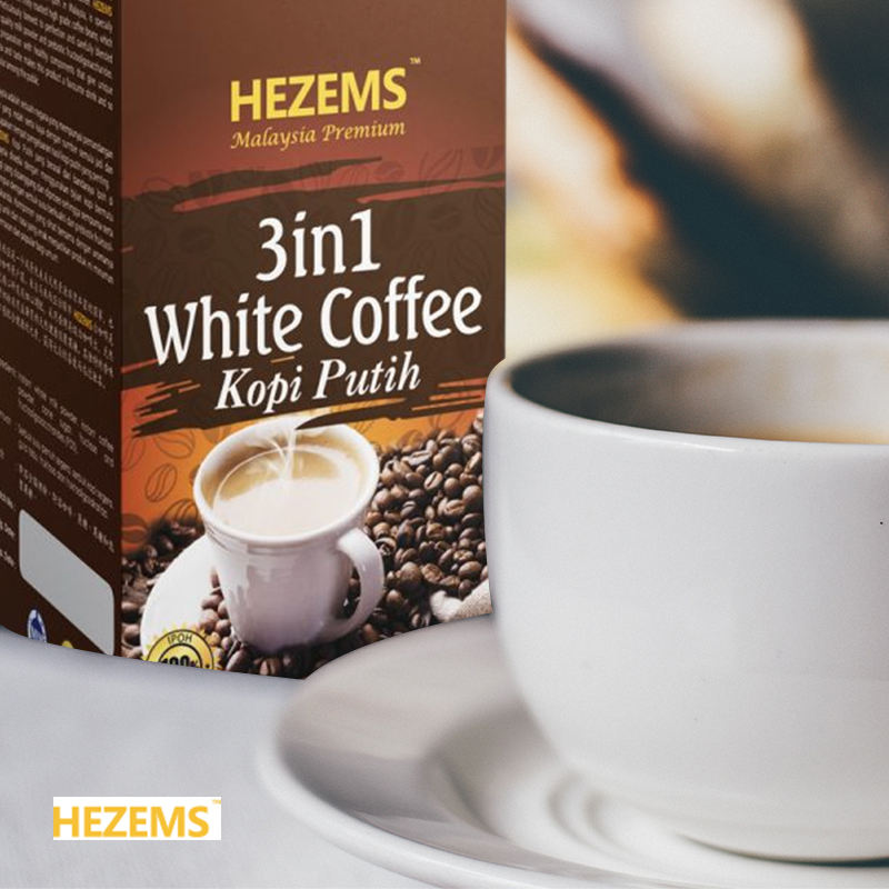 High Quality 3 IN 1 WHITE COFFEE Made in Malaysia