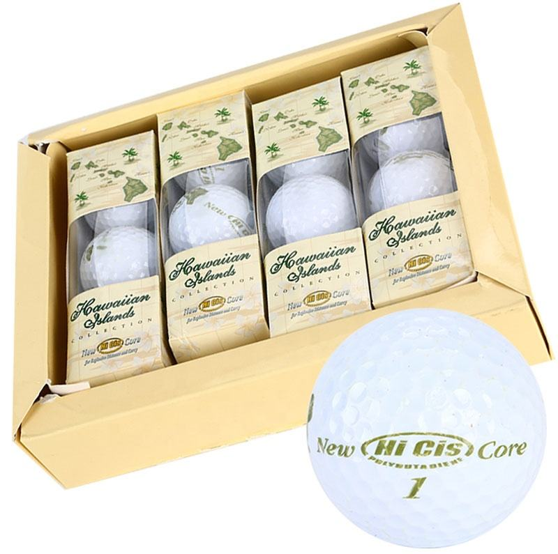 High Quality Urethane 2 / 3 / 4 Piece Golf Ball In Gift Box