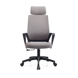 Office Stool Ergonomic Leather Comfortable Office Rolling Chair Swivel