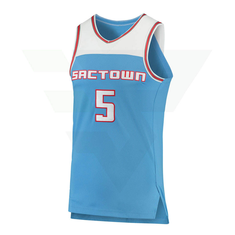 Custom Men's Dry Fit Breathable Basketball Jersey / Youth Basketball Jerseys In All Sizes