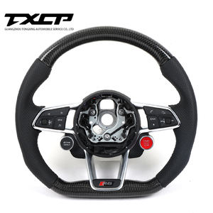 Custom Alcantara carbon fiber steering wheel For Aud i 2016-2019 TTS R8 TTRS TT racing wheel convertible