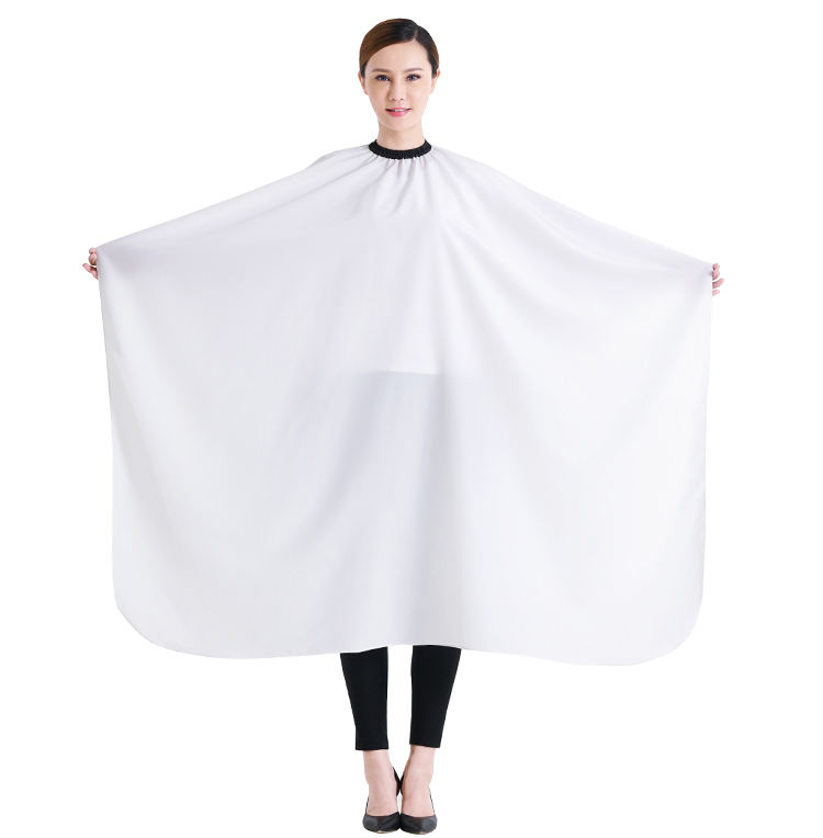 Professional Wholesale Customized Polyester Barber Cape Unisex Hair Cutting Cape Hair Stylist Cape