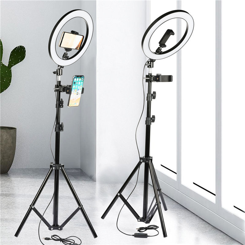 phone mini 10 inch Photographic Selfie Led Ring Light led ring light with stand ring light tripod