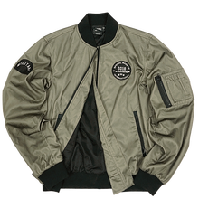 Draping Cut Classical Varsity Bomber Jacket