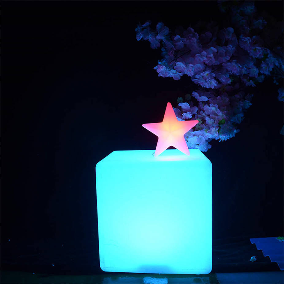 hot sale led cube led sofa bar stools rechargeable waterproof chair lighting