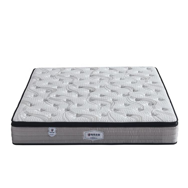 Factory wholesale price king queen twin single double size bunk bed knitted fabric natural latex mattress
