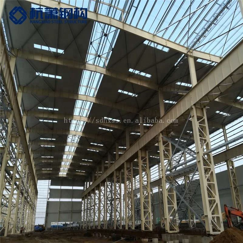 Welding [ Steel Heavy Structure ] Steel Frame Heavy Prefab Building Light Steel Structure Hangars