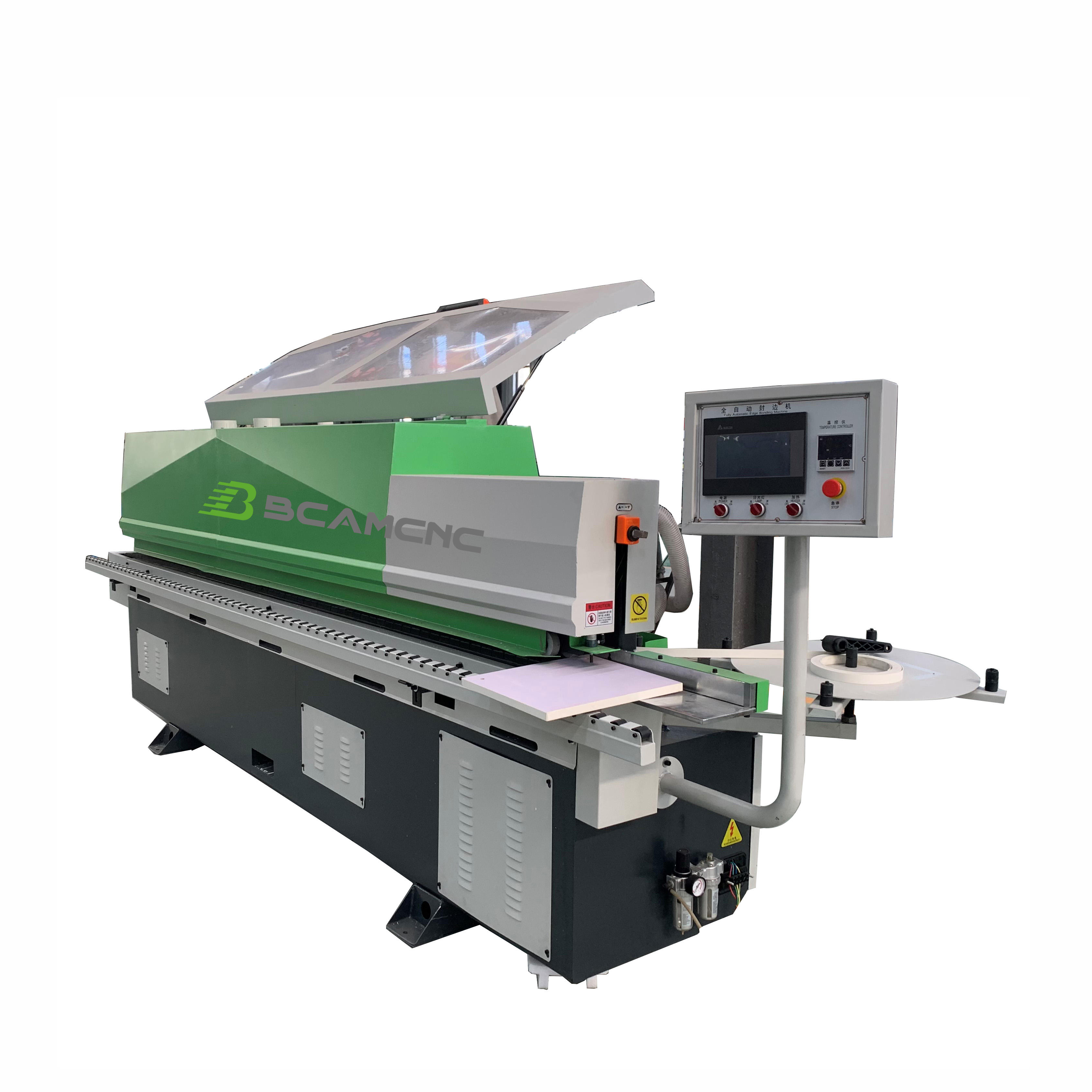 Semiautomatic Wood MDF BCAM Woodworking Full Automatic PVC Edge Bander Banding Machine
