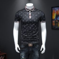 2020 New Summer Cotton POLO Shirt breathable plus size Men H