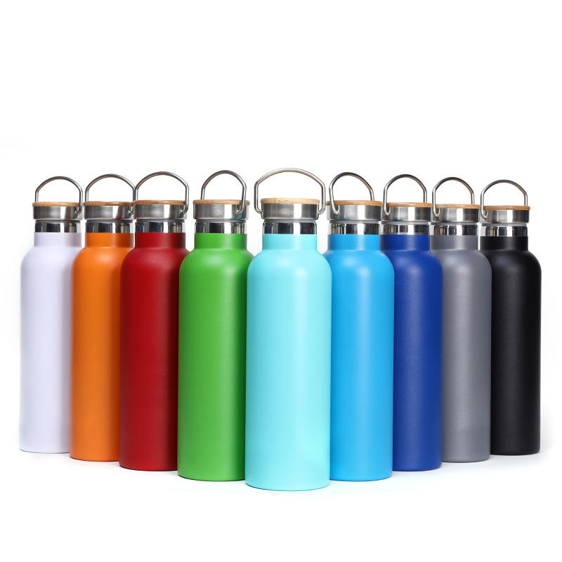 12oz 17oz 20oz 25oz 34oz Wide Mouth Potable BPA Free Leak Proof Vacuum Double Wall Thermos Metal Stainless Steel Water Bottle