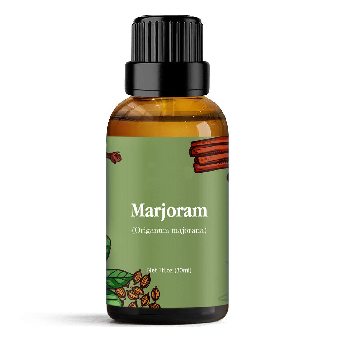 OEM Marjoram Essential Oil 15ml Bare Oils USDA Certified Organic Essential Oils With Private Label