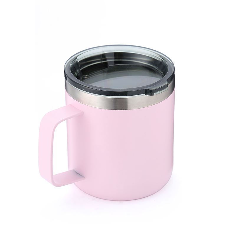 2020 Top Seller DW Stainless Steel Jus Cangkir Perjalanan Mug 12Oz/14Oz Cangkir Kopi Wine Cup Coffee Mug With Handle