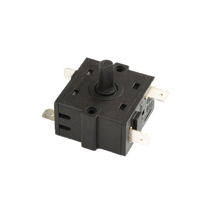 free samples 250 vac 2 way 7 position miniature rotary switch for lamp