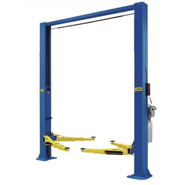 electric release gantry lifter two post hydraulic used truck car lifts for sale