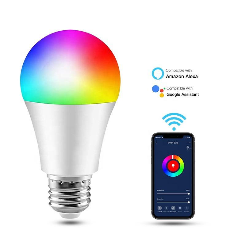 8W 800LM Smart LED Bulb Bluetooth Control Music Light Bulb RGB Color Changing Bluetooth led bulb alexa e27