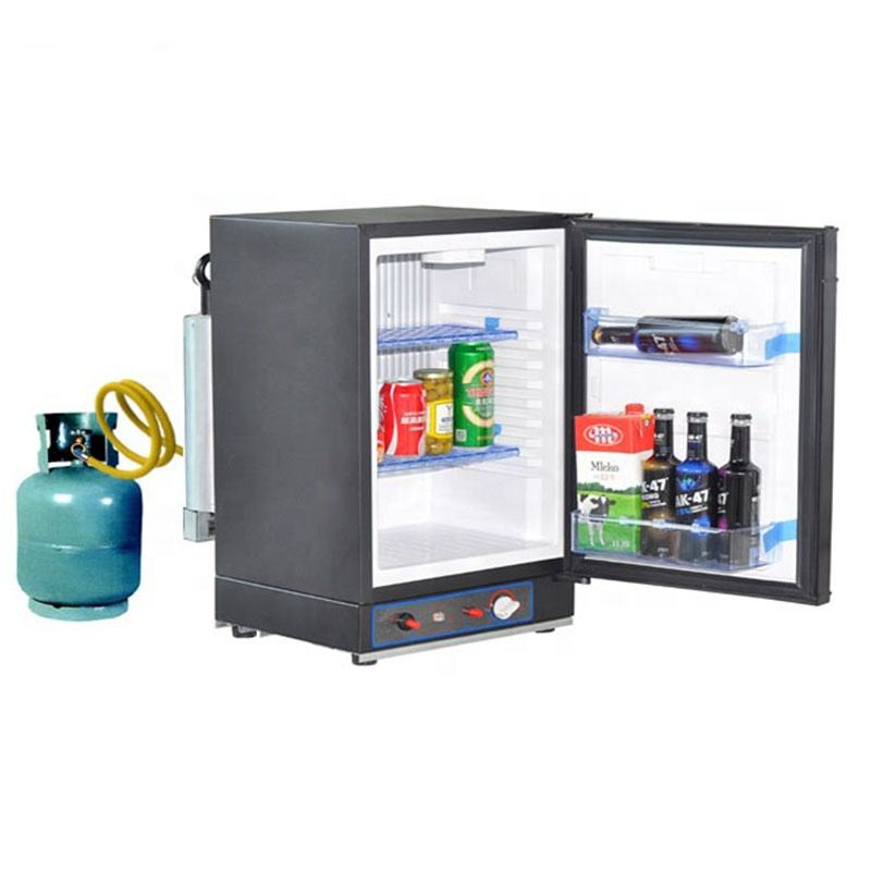 XC40 LPG Gas 12v 220v Powered 40L 60L Portable RV Outdoor Absorption Refrigerator