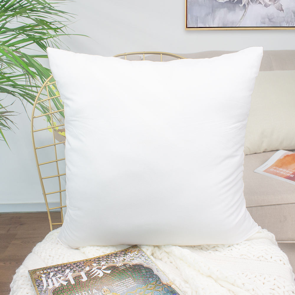 Wholesales 45x45cm 50x50cm PP Cotton Square Polyester Cushion Inner Stuffing Filling Throw Pillow Inserts