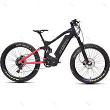 2020 Ansbern Hot Sale Mtb E Bike Full Suspension Fat Tire Ebike Electric Bike