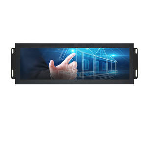 27 32 34 35 49 inch stretched bar type lcd digital signage display super ultra wide touch screen monitor