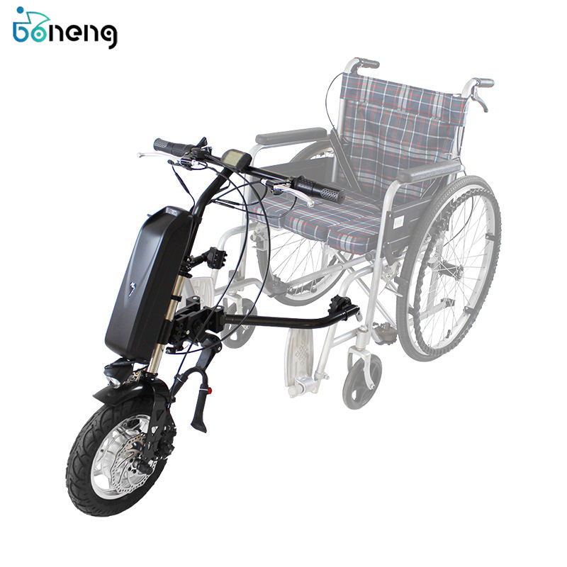 2020 Hot selling wheelchair attachment 48v 500w electric handcycle motor 16in for wheel chair