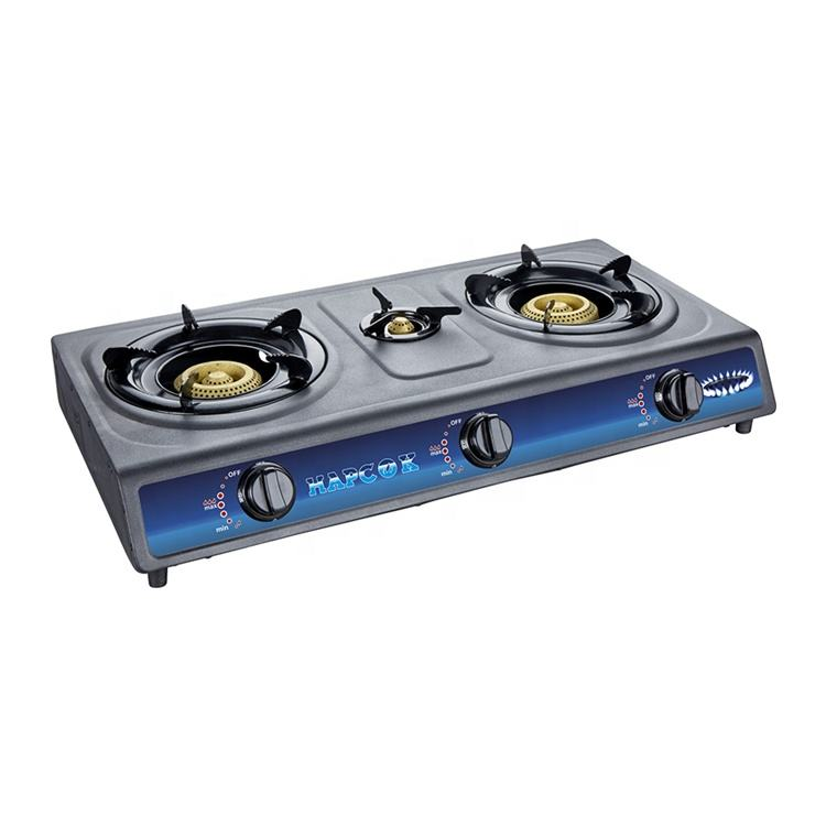 2020 New hight quality products stainless gas stove 3 burner