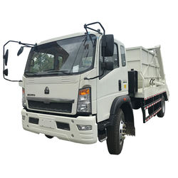 Sinotruk HOWO 4x2  swing arm container garbage compactor truck