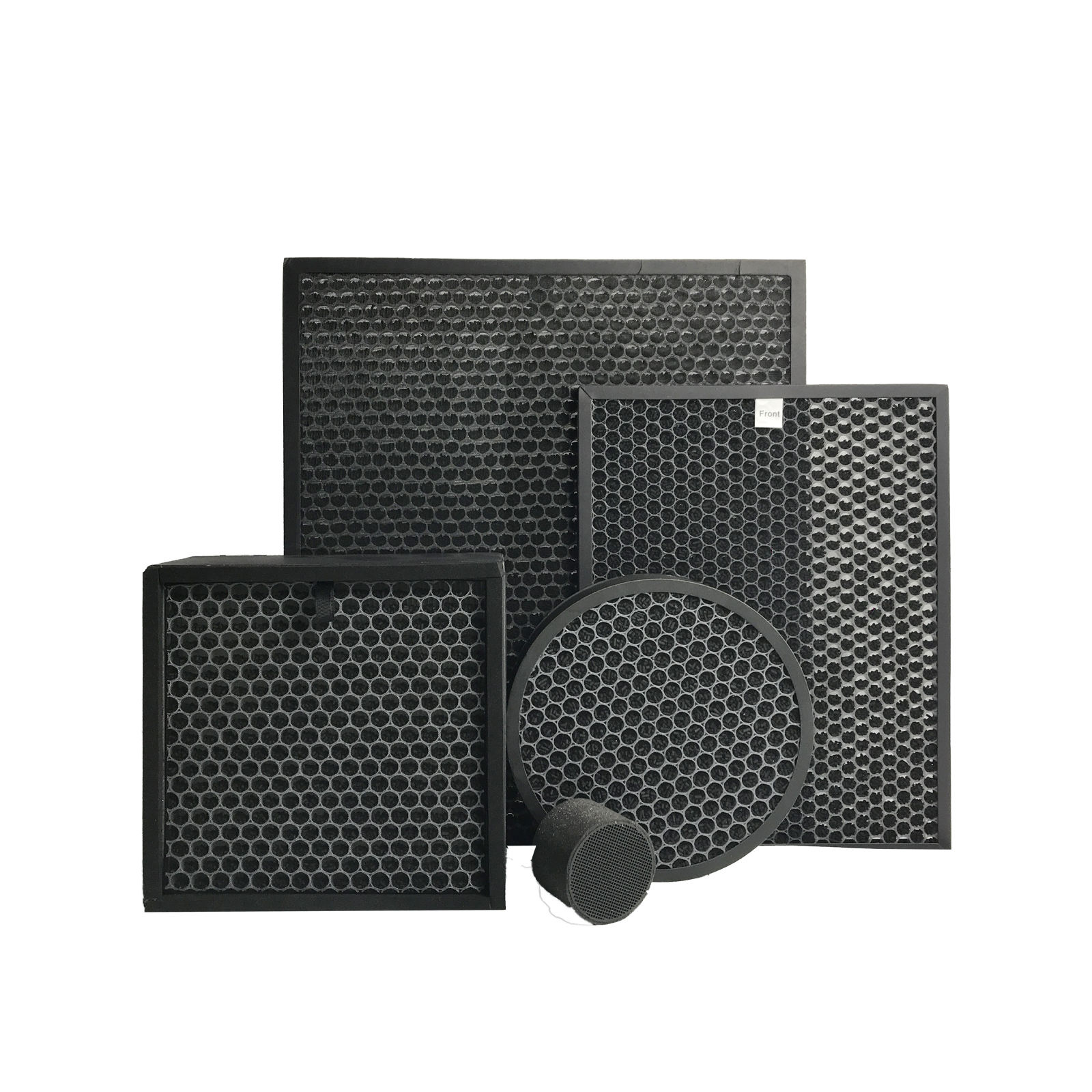 Manufacture Ture honeycomb active carbon air filter screen household use activated charcoal filter