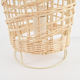 Bedside Lamp Table Bedside Lamp Rattan Bedside Table Lamp Simple Rattan Led Table Lamp