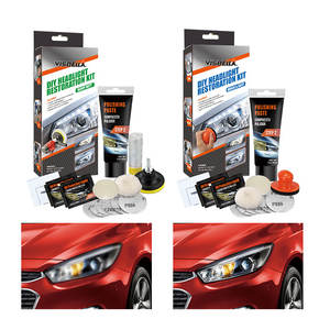 Visbella Nice Car Headlight Polish Repair Coating Solution Repair Kit
