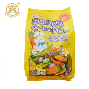 Plastic Side Gusset Printing Opp Candy Package Bag
