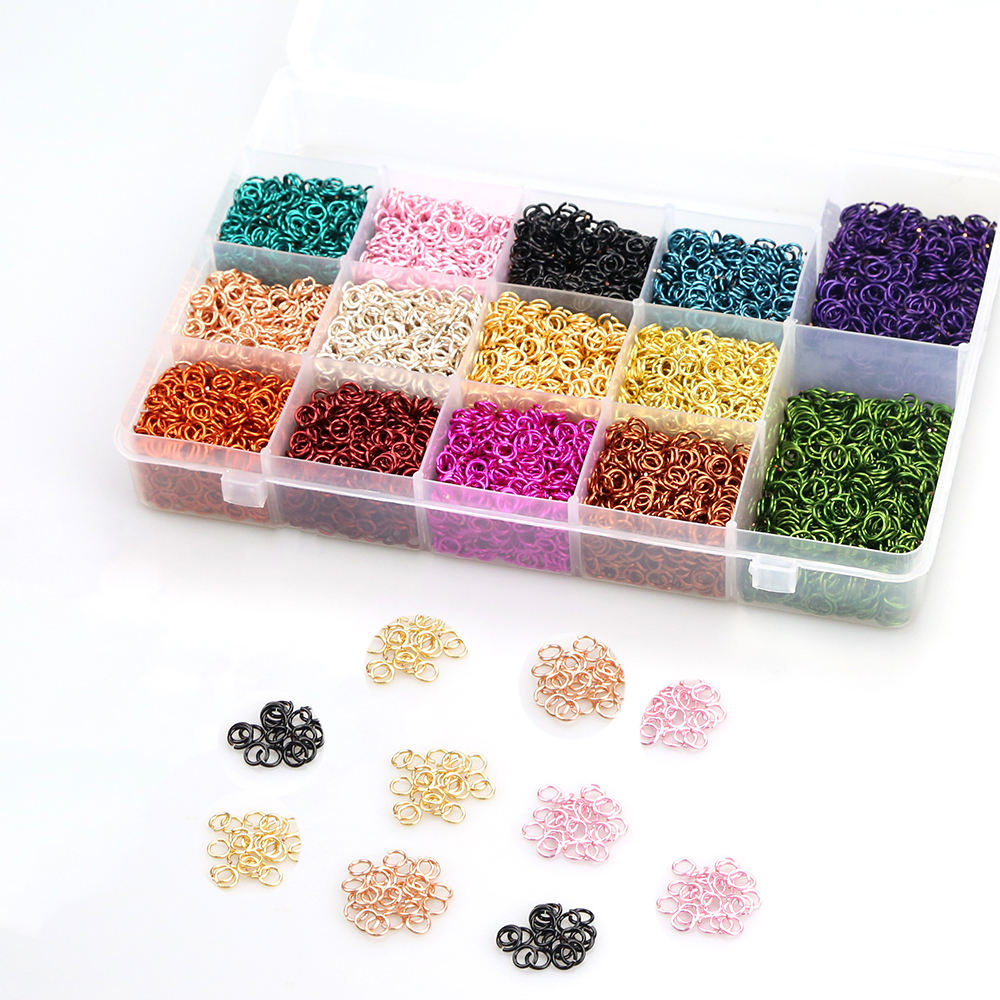XuQian Supplies High Quality Jewelry Making Material Mini Jump Ring For Chain Maille