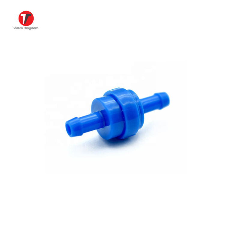 "1/4"" Mini Plastic Check Valve Coffee Machine Non Return Valve Mini Plastic Spring Check Valve"