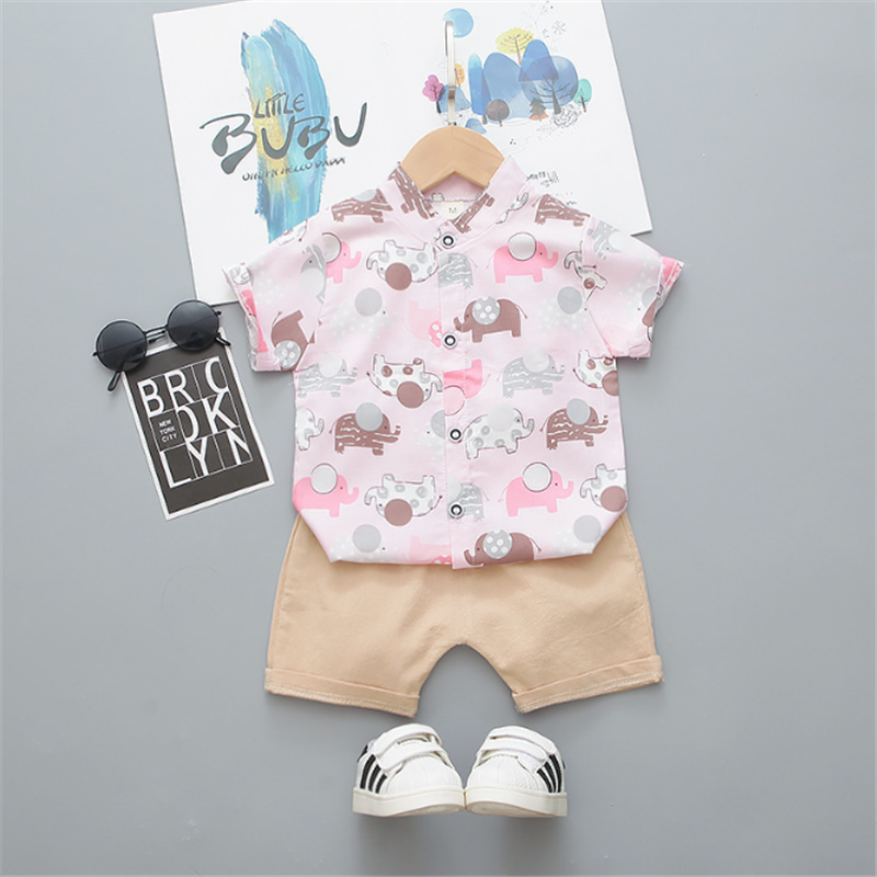 Infant Outfits Cotton Baby Boys' Clothing Sets Kids Clothes Sets Boys Soft Boy Clothes Sets