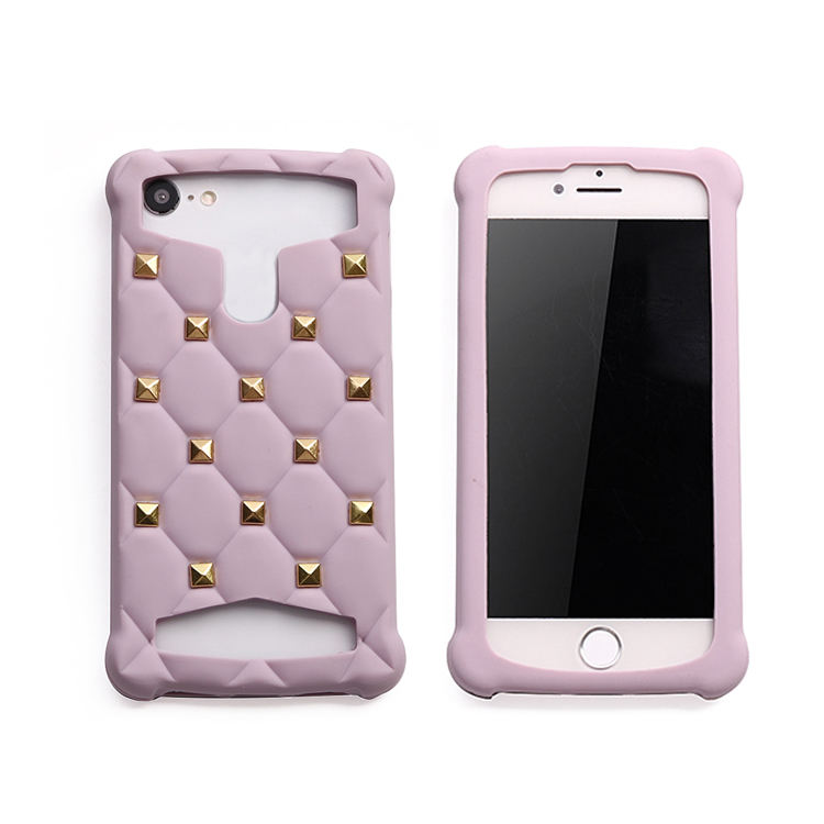 Universal silicone phone case with mandarin orange for 4.5-5.0 inch 5.1-5.5 inch