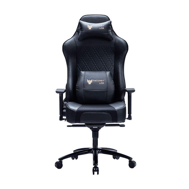 8255 Hot Sale Black Ergonomic Massage Gaming Chair Rocking Chair Cooling System