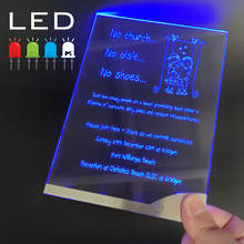 New  LED Wedding Invitations Card Custom Design Clear Acrylic Wedding Card Unique Wedding Invitation Card