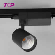 New Arrivals 10/18/30/35w round track led light 4000k ceiling track light for hotel exclusive shop